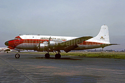 Crashed while returning to La Macarena Airport, Colombia on June 19, 1986 after an engine failure. 3 killed.