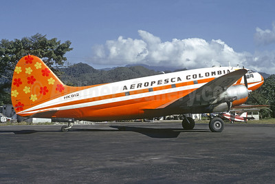 Aeropesca Colombia Curtiss C-46A-45-CU Commando HK812 (msn 30269) VVC (Jacques Guillem Collection). Image: 920033.