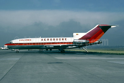 Aerosucre Colombia Boeing 727-21 (F) HK-1717 (msn 18993) BOG (Christian Volpati). Image: 950519.