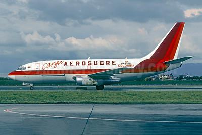 Aerosucre Colombia Carga Boeing 737-2S5C HK-4328 (msn 22148) BOG (Christian Volpati). Image: 950524.