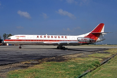 Aerosucre Colombia Sud Aviation SE.210 Caravelle 10B3 (F) HK-3805 (msn 257) BOG (Christian Volpati). Image: 950522.