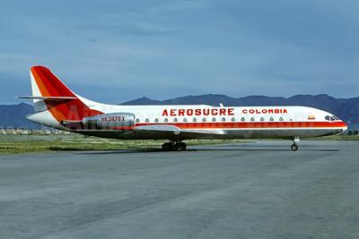 Aerosucre Colombia Sud Aviation SE.210 Caravelle 10B1R HK-3676-X (msn 232) BOG (Christian Volpati Collection). Image: 950521.