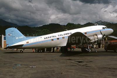 Aerotal Colombia Douglas C-47A-DL (DC-3) HK-1393 (msn 19053) VVC (Christian Volpati). Image: 930205.
