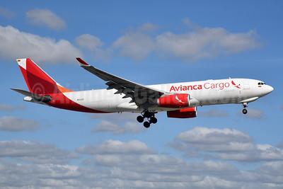 Avianca Cargo (Tampa Cargo) Airbus A330-243F N332QT (msn 1428) MIA (Bruce Drum). Image: 105222.