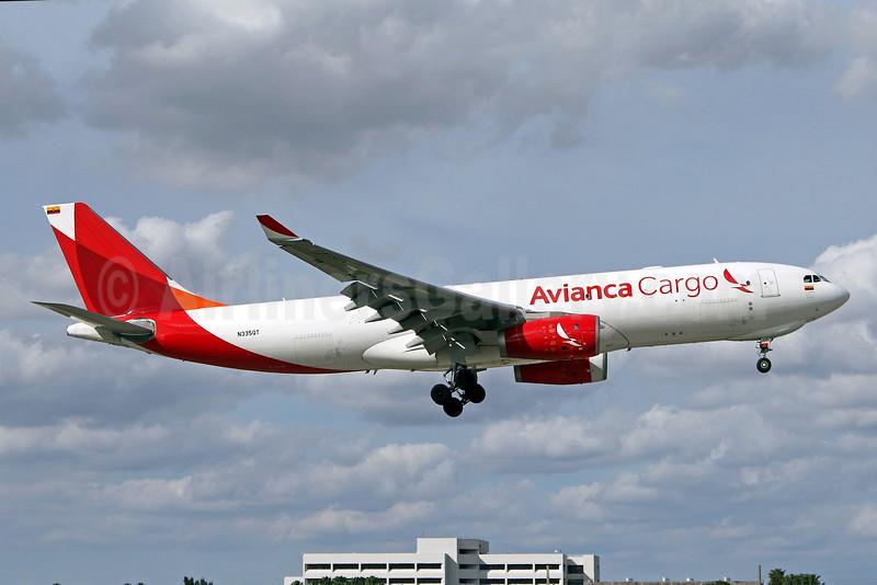 Avianca Cargo (Tampa Cargo) Airbus A330-243F N335QT (msn 1534) MIA (Brian McDonough). Image: 931891.