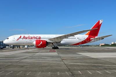 Avianca (Colombia) Boeing 787-8 Dreamliner N782AV (msn 37504) SJU (Raul Sepulveda). Image: 936791.