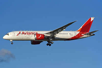Avianca (Colombia) Boeing 787-8 Dreamliner N792AV (msn 37510) LHR (Rolf Wallner). Image: 939952.
