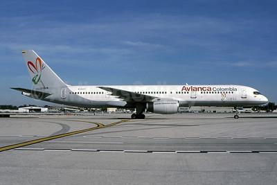 Avianca Colombia Boeing 757-2Y0 EI-CEY (msn 26152) (Summa) MIA (Bruce Drum). Image: 105254.