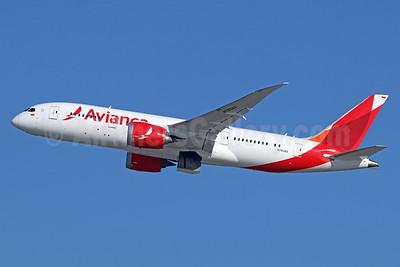 Avianca (Colombia) Boeing 787-8 Dreamliner N783AV (msn 37505) LAX (Michael B. Ing). Image: 937565.