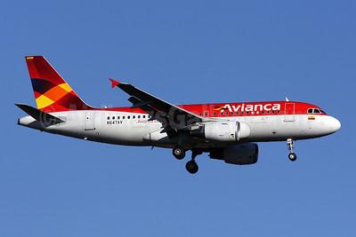 Avianca (Colombia) Airbus A319-115 N647AV (msn 3647) IAD (Brian McDonough). Image: 904006.
