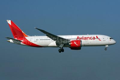 Avianca (Colombia) Boeing 787-8 Dreamliner N786AV (msn 37508) LHR (SPA). Image: 936919.