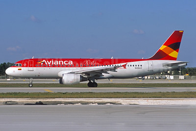 Avianca (Colombia) Airbus A320-214 N416AV (msn 4167) (90 Anos) FLL (Jacques Guillem Collection). Image: 930450.