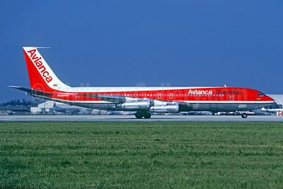 Avianca Colombia Boeing 707-321B HK-2070X (msn 19266) MIA (Christian Volpati Collection). Image: 936331.