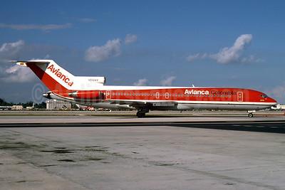 Avianca Colombia Boeing 727-2Q9 N202AV (msn 21931) MIA (Keith Armes). Image: 930324.