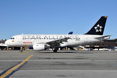 Avianca (Colombia) Airbus A319-115 N519AV (msn 5119) (Star Alliance) JFK (Stephen Tornblom). Image: 909749.