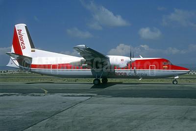 Avianca Colombia Fokker F.27 Mk. 050 PH-MXJ (HK-4497) BOG (Michel Saint-Felix). Image: 940620.
