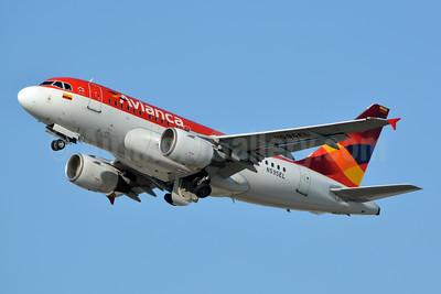 Avianca (Colombia) Airbus A318-111 N595EL (msn 2394) MIA (Jay Selman). Image: 403348.