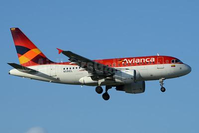 Avianca (Colombia) Airbus A318-111 N591EL (msn 2333) CUR (Ton Jochems). Image: 936994.
