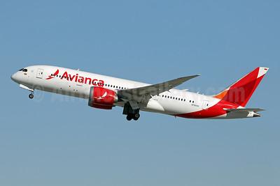 Avianca (Colombia) Boeing 787-8 Dreamliner N780AV (msn 37502) LAX (Ron Monroe). Image: 947817.
