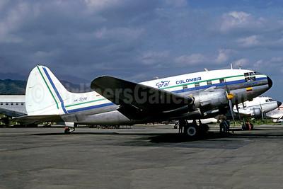 """""""Ciudad Mitu"""", crashed on takeoff at Villavencio on September 29, 1991"""