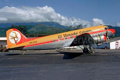 El Venado Colombia Douglas C-47-DL (DC-3) HK-122 (msn 4414) VVC (Christian Volpati Collection). Image: 951991.