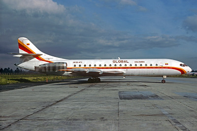 Global Colombia Sud Aviation SE.210 Caravelle 10B3 HK-3947X (msn 188) BOG (Christian Volpati Collection). Image: 933506.