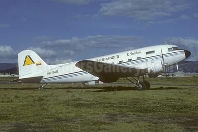 Interandes Douglas C-47B-DK (DC-3) HK-1149 (msn 26593) BOG (Christian Volpati Collection). Image: 951992.