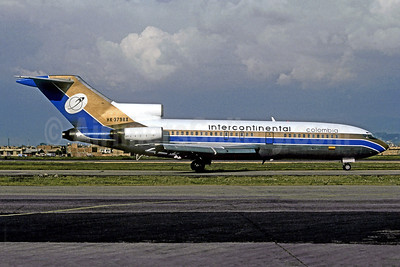 Intercontinental Colombia Boeing 727-25 HK-3798X (msn 18969) BOG (Christian Volpati Collection). Image: 938531.