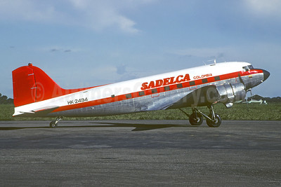 SADELCA Colombia Douglas C-47B-DK (DC-3) HK-2494 (msn 33105) VVC (Christian Volpati). Image: 952319.