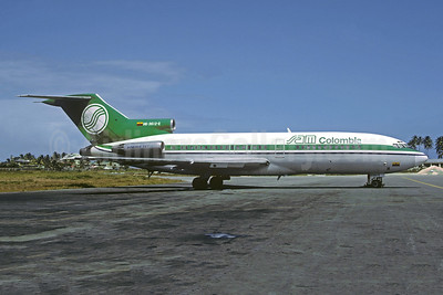 SAM Colombia Boeing 727-46 HK-3612-X (msn 19281) ADZ (Christian Volpati Collection). Image: 946320.