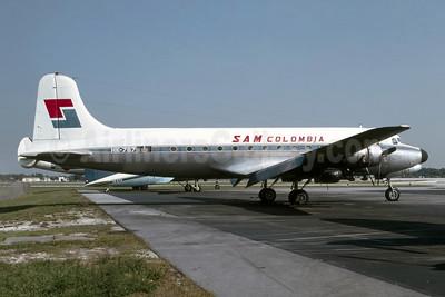 SAM Colombia Douglas C-54G-5-DO (DC-4) HK-767 (msn 35993) MIA (Bruce Drum). Image: 105601.