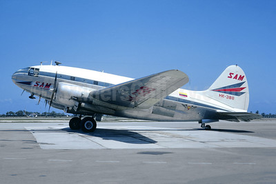 SAM Colombia Curtiss C-46A-35-CU Commando HK-388 (msn 26796) MBJ (Christian Volpati Collection). Image: 946316.