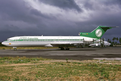 SAM Colombia Boeing 727-2A1 HK-2152X (msn 21344) ADZ (Perry Hoppe): Image: 911427.