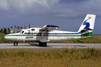 SAM Colombia de Havilland Canada DHC-6-300 Twin Otter HK-2439 (msn 668) ADZ (Christian Volpati Collection). Image: 947886.