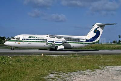 SAM Colombia Avro (BAe) RJ100 N506MM (msn E3244) ADZ (Rob Rindt Collection). Image: 948329.