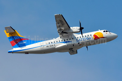SATENA ATR 42-600 HK-5114-X FAC-1192 (msn 1019) TLS (Paul Bannwarth). Image: 928567.