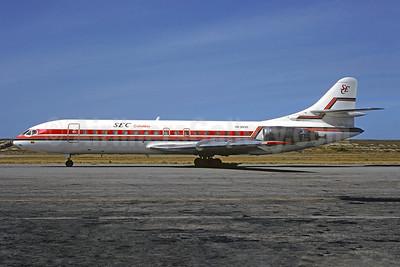 SEC Colombia Sud Aviation SE.210 Caravelle 10B3 HK-3836 (msn 211) CCS (Bruce Drum). Image: 104145.