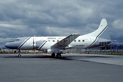 SERCA Colombia Convair 580 HK-3666-X (msn 18) BOG (Christian Volpati Collection). Image: 951821.
