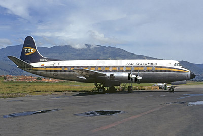 TAC Colombia Vickers Viscount 837 HK-1412 (msn 440) MDE (Christian Volpati). Image: 951777.