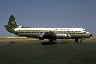 TAC Colombia Vickers Viscount 837 HK-1267 (msn 441) (Ulrich Klee - Bruce Drum Collection). Image: 954791.