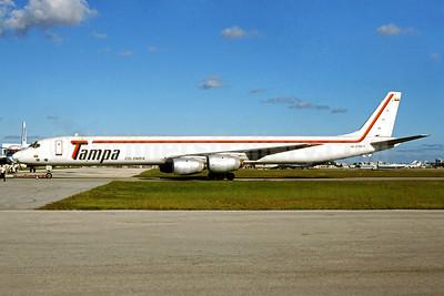 Tampa Colombia McDonnell Douglas DC-8-71 (F) HK-3786-X (msn 45849) MIA (Bruce Drum). Image: 104163.