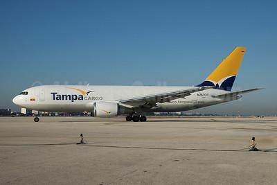 Tampa Cargo Boeing 767-241F ER N767QT (msn 23804) MIA (Bruce Drum). Image: 100668.