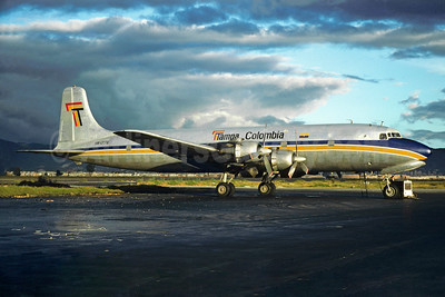 Tampa Colombia Douglas DC-6A HK-1776 (msn 45499) BOG (Christian Volpati Collection). Image: 934593.