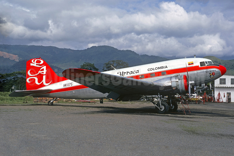 Urraca Colombia-LAU (Lineas Aereas la Urraca) Douglas C-47A-DL (DC-3) HK-1175 (msn 20432) VVC (Christian Volpati). Image: 928412.