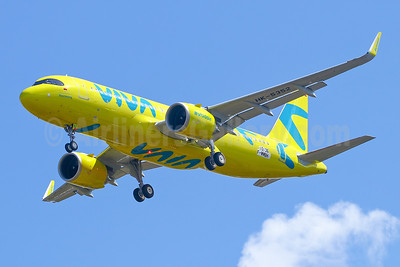 "Viva's new ""Boomerang"" yellow livery"