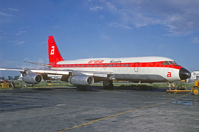 Leased from Alaska Airlines April 1968 - March 1969