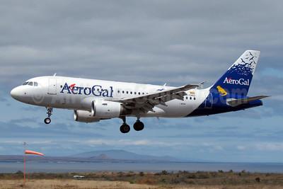Arriving at Seymour Airport, Baltra, Galapagos Islands
