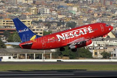 "AeroGal's ""Nescafe"" logo jet"