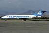 Ecuatoriana (Empresa Ecuatoriana de Aviacion) Boeing 727-287 HC-BVT (msn 22603) (VASP colors) SCL (Christian Volpati). Image: 913604.