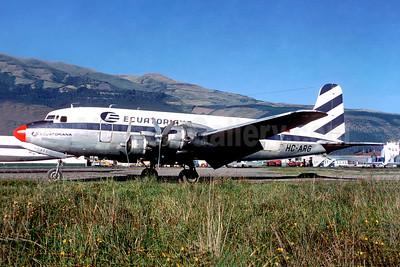 Ecuatoriana (Empresa Ecuatoriana de Aviacion) Douglas C-54A-DC (DC-4) HC-ARG (msn 10405) UIO (Christian Volpati). Image: 944113.